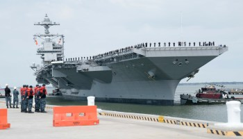 Navy asks to delay shock testing on the troubled USS Gerald R. Ford aircraft carrier for six more years