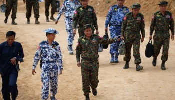 Burmese government denies existence of mass graves