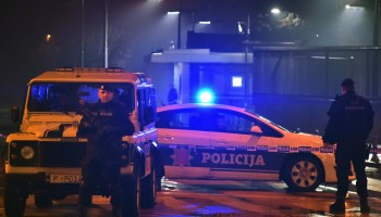 Bombing at the US Embassy in Montenegro ends with only the attacker dead