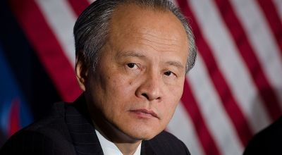 Chinese ambassador warns US, 'it's dangerous to advocate' confrontation with China