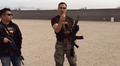 Watch: Travis Haley illustrates the gross motor skill reload with the AK