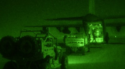 SOF Pic of the Day: USSOCOM loading C-130s under cover of darkness