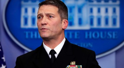 Who is Dr. Ronny Jackson?