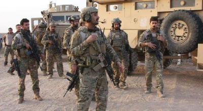 Kurdistan's Counter Terror Group deployed to Kirkuk for Newroz