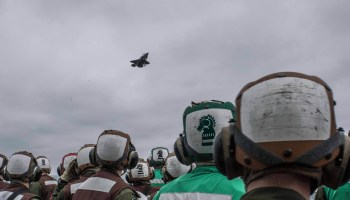 Watch: 'Green Knights' of Marine Fighter Attack Squadron 121 Deploy First Operational F-35B's