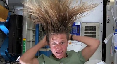 Watch: Sunday Fun Day – How to Wash Your Hair in Space