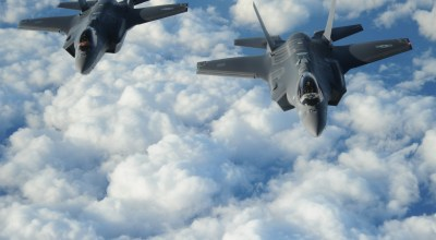 Two Israeli Air Force F-35 Adir Stealth Fighter Jets Enter Iranian Airspace
