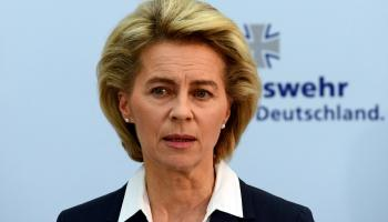 German Defense Minister Blasts Russian Nerve Gas Attack in Britain