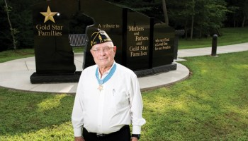 """Last Living MOH Recipient from Iwo Jima Honors """"Guardian Angel"""""""