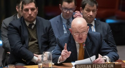 'You'll be sorry' Russia tells Britain at UN Security Council