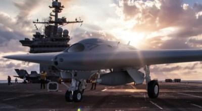 Watch: Lockheed Martin Skunk Works MQ-25 Unmanned Tanker