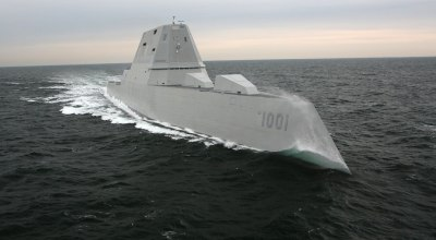 Navy accepts delivery of its newest stealth destroyer — named for a SEAL that gave his life to save his teammates