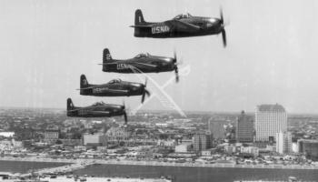 navy Blue Angels F8F Bearcat