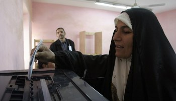 Kurdish political parties demand Iraq do away with electronic voting