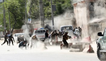 Coordinated suicide attacks in Afghanistan kill approximately 25