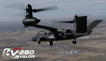 Watch: Bell V-280 Valor First Ever Cruise Mode Flight!