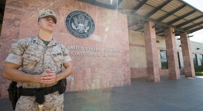 Marines Beefing Up Security at US Embassies After Jerusalem Opening