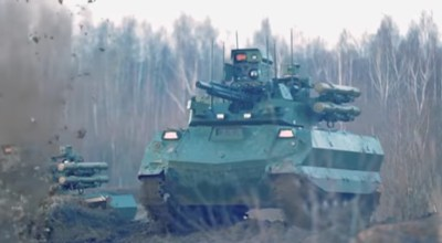 Russia claims its unmanned drone-tank has seen combat in Syria — but has it?