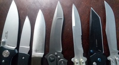 My preferred knife grinds
