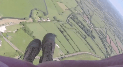 Watch: Romanians Jumping Over Sainte-Mere-Eglise