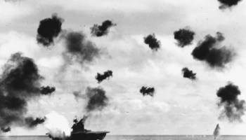 Five minutes at the Battle of Midway turned the tide