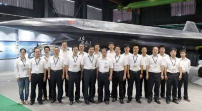 Image of China's long rumored 'stealth drone' surfaces on Chinese internet