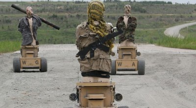 Marines test marksmanship training on moving targets