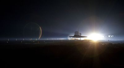 The Pic of the Day: The Space Shuttle's last ride