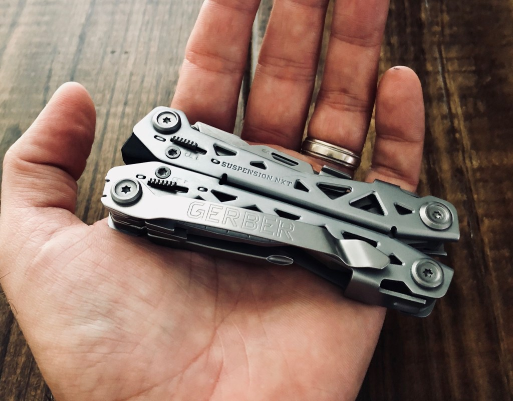 New and improved Multi-Tool from Gerber: the Suspension NXT