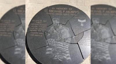Lt. Michael P. Murphy memorial vandalized, teen vandal arrested