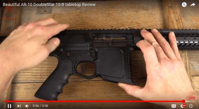 DoubleStar10B Bat Rifle: Graham Baates Video