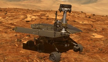 A global dust storm on Mars may have killed NASA's Opportunity rover --- but they haven't given up yet