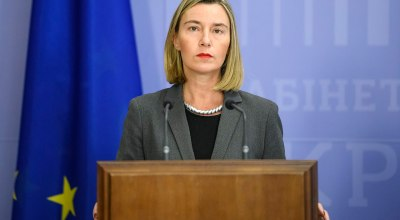 Federica Mogherini,  the EU's High Representative for Foreign Affairs and Security/Wikimedia Commons.