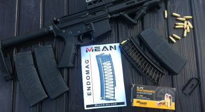 Mean Arms EndoMag: Magazine Insert Converts Your AR Lower to 9mm