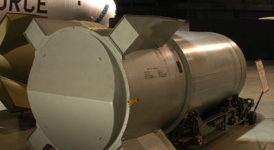 Mark 53 Thermonuclear Bomb on display at the National Museum of the U.S. Air Force. /U.S. Air Force photo