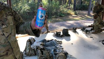 Exclusive: Meet the new energy drink that's a hit with service members