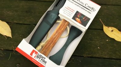 Light My Fire Black Pearl CampKit: Give your campfire skills an edge