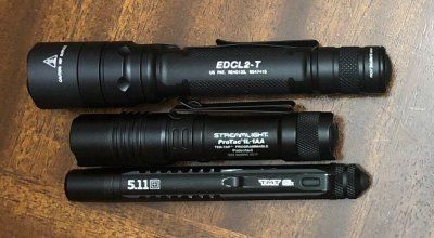 EDC Flashlights for Security and Self-Defense
