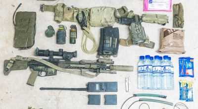 Special Operations Member Gear Layout for a 24 hour Operation