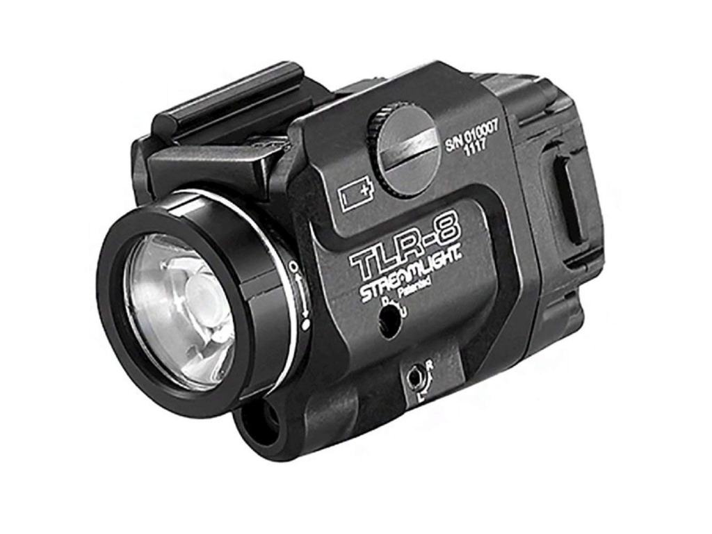 Streamlight TLR-8 Weapons Mounted Light and Red Laser