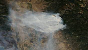 The Pic of the Day: California's wildfires from space