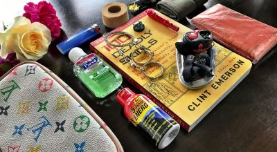 Build a small emergency kit for her as a Christmas gift