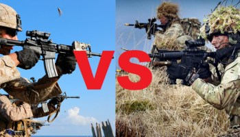 May the best Marines win: US Marines set to take on UK's Royal Marines in force-on-force exercises