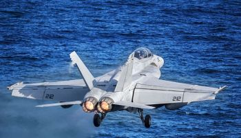 US Navy fighter goes down in Philippine Sea