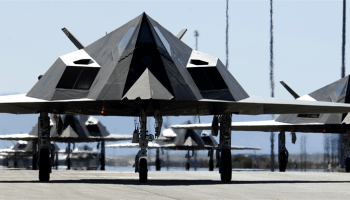 What do we do with our stealth aircraft after we're through with them?