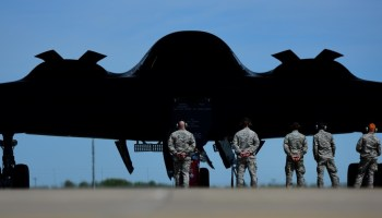 Air Force says America's new stealth bomber is 'on schedule' for combat operations in just a few years