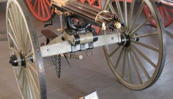 The birth of the famous Gatling gun