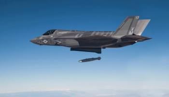 Watch: An F-35B obliterates a moving target