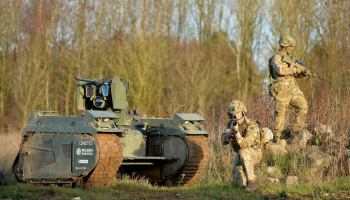 They are coming: British military successfully tests robots in combat roles