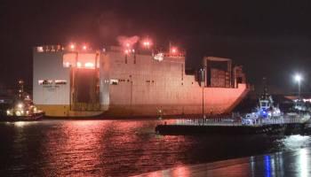 British Special Boat Service storm a hijacked cargo ship near London